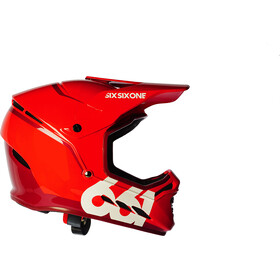 SixSixOne Reset Bike Helmet red